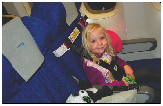 Flying With A 2 Year Old - Sprouts En Route