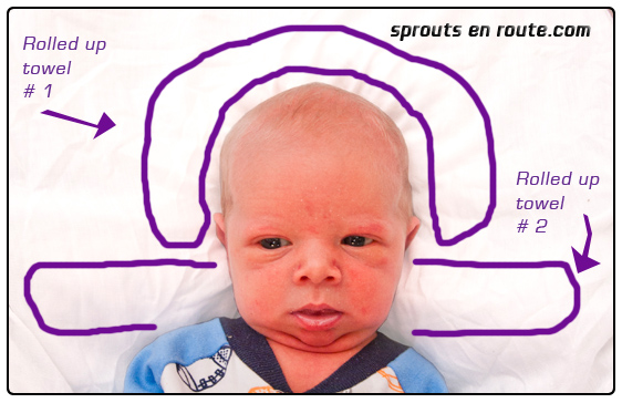 infant passport photo tutorial