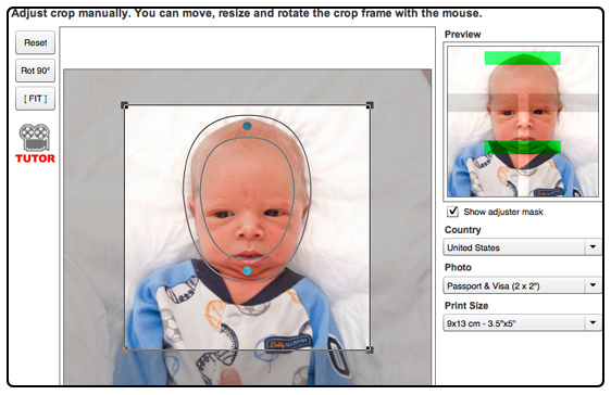 Infant passport photo tutorial sprouts en route once solutioingenieria Image collections
