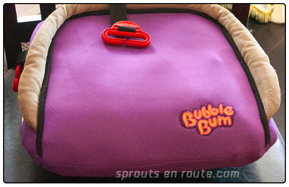The BubbleBum: Best Booster Ever - Sprouts En Route