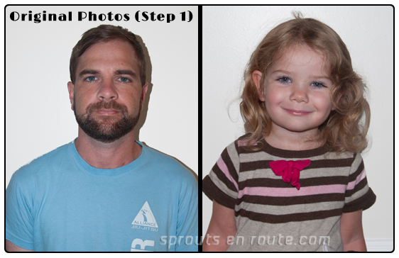 diy passport photos adults children toddlers 1