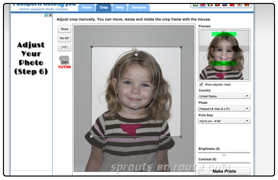 diy passport photos adults children toddlers 3