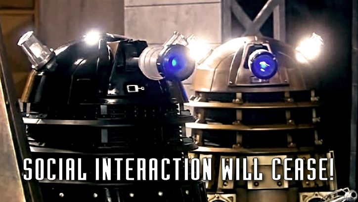 dalek hates facebook and twitter