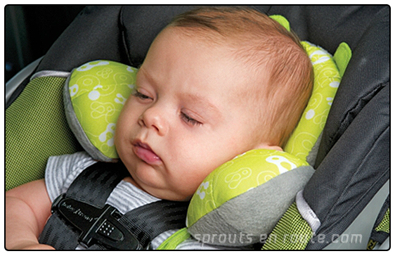 Trend Sprouting Best Baby Travel Pillow EVER