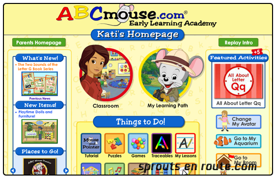 abcmouse com preschool abcmouse early learning academy review sprouts en route 664