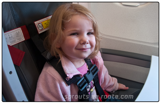 The Seat Swap - Flying With Small Kids - Sprouts En Route