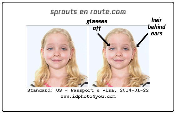 passport photo diy tutorial six year old