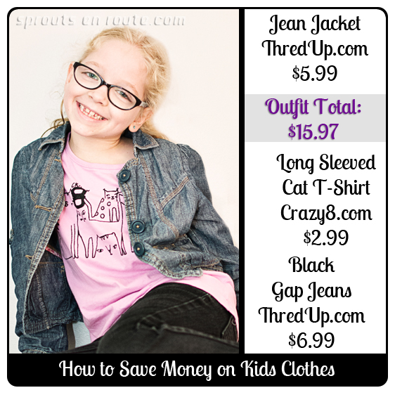 How To Save Money o Kids Clothes