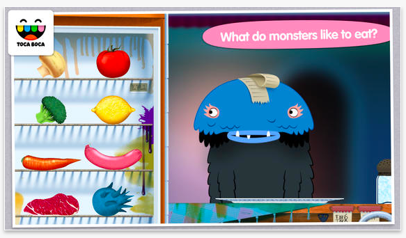 Toca Monster Kitchen